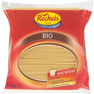 Grosspackung Recheis Bio Spaghetti 5 kg Pasta Nudeln
