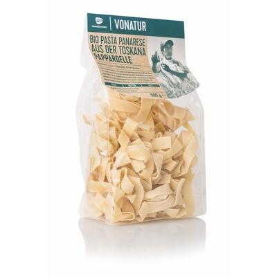 Grosspackung Vonatur Pasta Panarese Bio Pappardelle 8 x 500 g = 4 kg