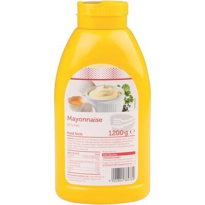 Grosspackung Economy Mayonnaise 50% Fett 6 x 1,2 kg = 7,2 kg