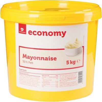 Grosspackung Economy Mayonnaise 50% Fett 5 kg