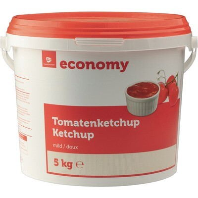 Grosspackung Economy Ketchup mild 5 kg