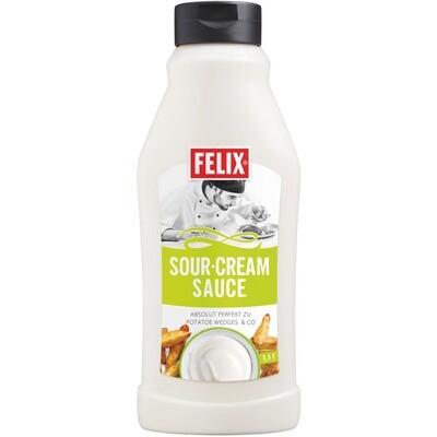 Grosspackung Felix Sauce Sour Cream 8 x 1,1 l = 8,8 Liter