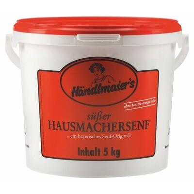Grosspackung Händlmaier Hausmachersenf süss 5 kg