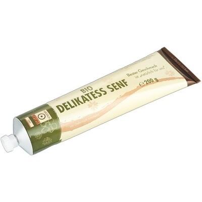 Grosspackung natürlich für uns Bio Senf delikatess 12 x 200 g = 2,4 kg