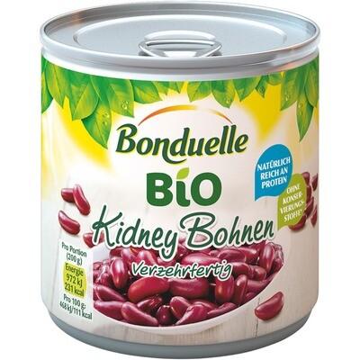 Grosspackung Bonduelle Bio Kidney Bohnen 12 x 425 ml