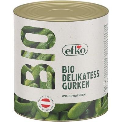 Grosspackung Efko Bio Deli Gurken 1,3 kg