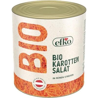 Grosspackung Efko Bio Karotten / Rüebli Salat Julienne 1,35 kg