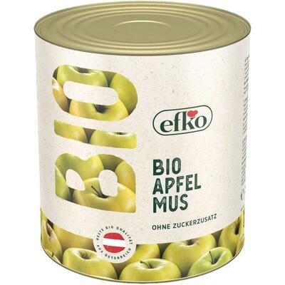 Grosspackung Efko Bio Apfelmus ohne Zucker 2,6 kg