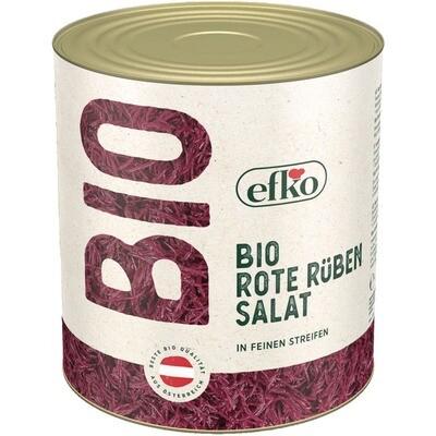 Grosspackung Efko Bio Rote Rüben / Beete Julienne Randen-Salat 1,1 kg