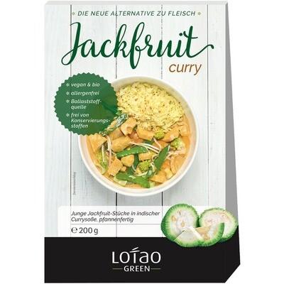 Grosspackung Lotao Bio Jackfruit Curry vegan 8 x 200 g = 1,6 kg