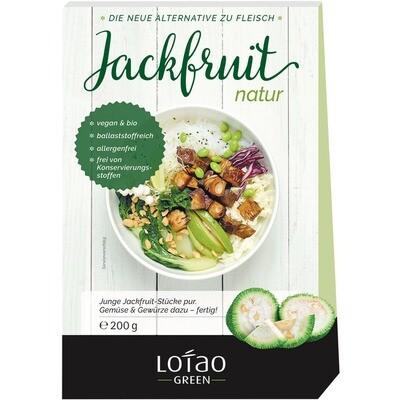 Grosspackung Lotao Bio Jackfruit Natur vegan 8 x 200 g = 1,6 kg