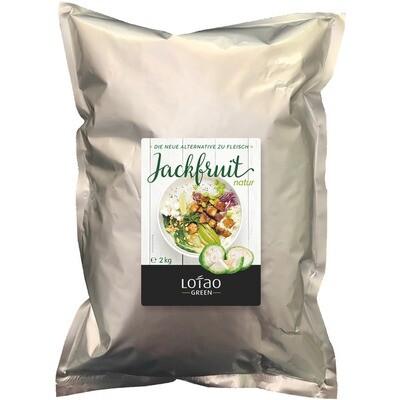 Grosspackung Lotao Bio Jackfruit Natur vegan 2 kg