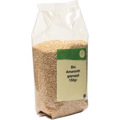 Grosspackung natürlich für uns Bio Amaranth gepoppt 10 x 150 g = 1,5 kg