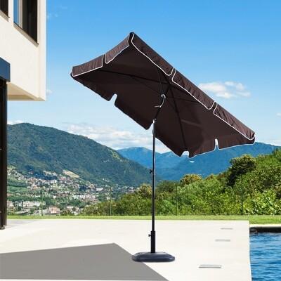 Outsunny® Sonnenschirm Gartenschirm Balkonschirm Strandschirm Marktschirm knickbar