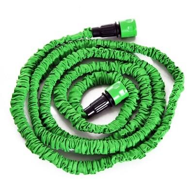 Outsunny® Flexibler Dehnbarer Gartenschlauch 7.5m (22.5m)