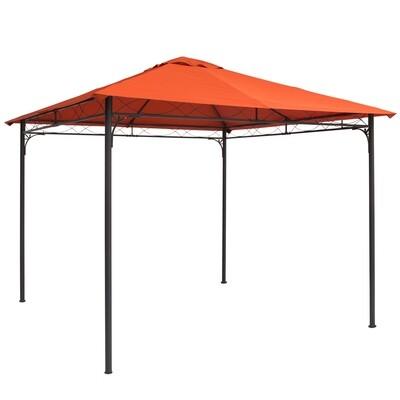 Outsunny® Pavillondach Ersatzdach für Pavillon Pavillonabdeckung Polyester Orange 3x3m