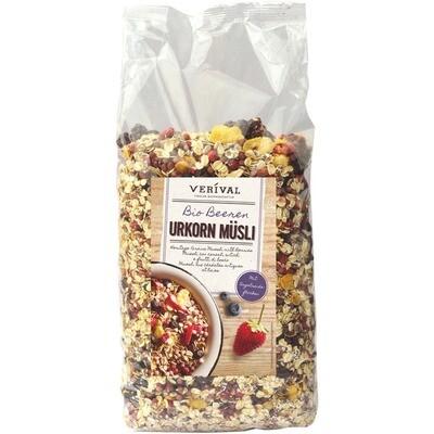 Grosspackung Verival Bio Urkorn Müesli Beeren 4 x 1,3kg = 5,2 kg