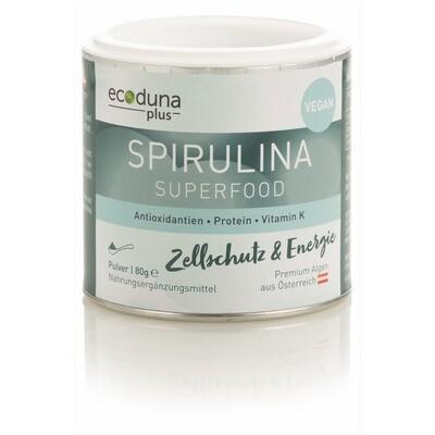 Algenpulver Spirulina 80g