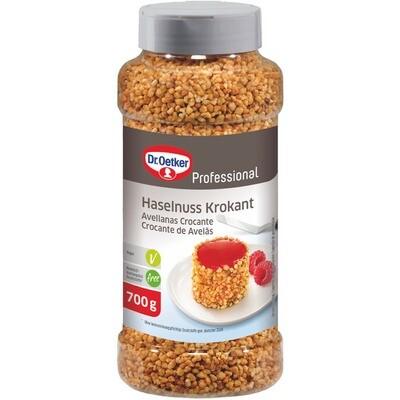 Grosspackung Dr. Oetker Haselnuss Krokant 700 g