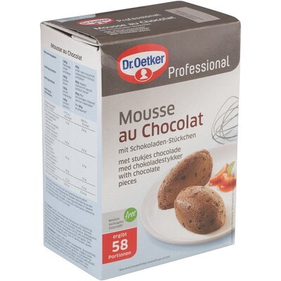 Grosspackung Dr. Oetker Mousse au Chocolat 1 kg