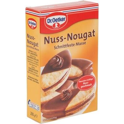 Grosspackung Dr. Oetker Nuss Nougat 12 x 200 g = 2,4 kg