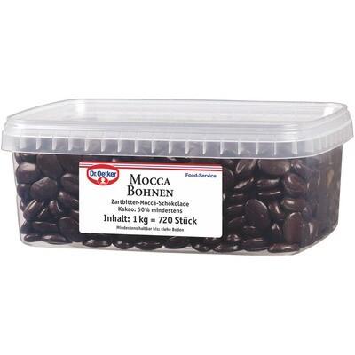 Grosspackung Dr. Oetker Schokolade-Moccabohnen 1 kg