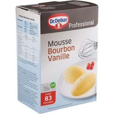 Grosspackung Dr. Oetker Mousse Vanille Bourbon 1 kg