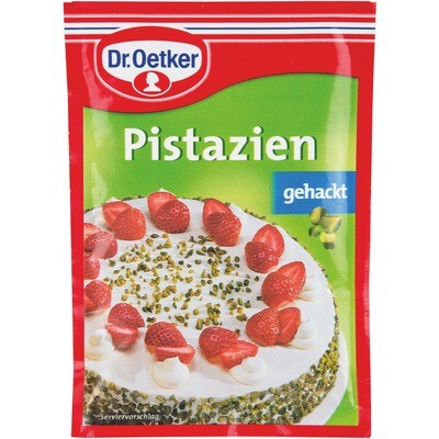 Grosspackung Dr. Oetker Pistazien gehackt 14 x 25 g