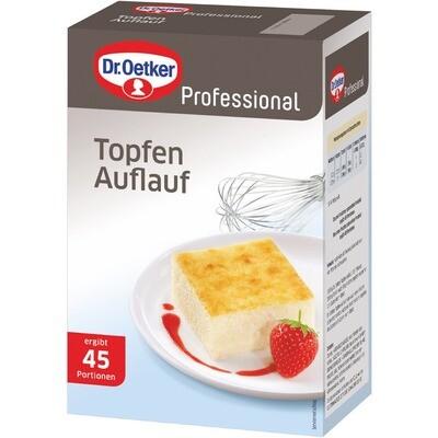 Grosspackung Dr. Oetker Quark-Auflauf Topfenauflauf Süsse Mahlzeit 1 kg