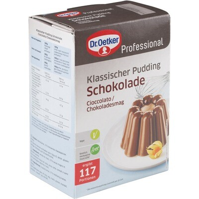 Grosspackung Dr. Oetker Schoko Pudding 6 x 900 g = 5,4 kg