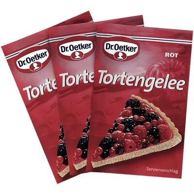 Grosspackung Dr. Oetker Tortengelee Rot 20 x 3er