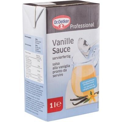 Grosspackung Dr. Oetker Vanillesauce 12 x 1 l = 12 Liter
