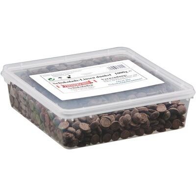 Grosspackung Freudenschuss Schokolinsen dunkel 1 kg