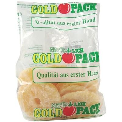 Grosspackung Goldpack Ananasscheiben getrocknet 10 x 500 g = 5 kg
