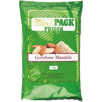 Grosspackung Goldpack Mandeln frisch gerieben 1 kg