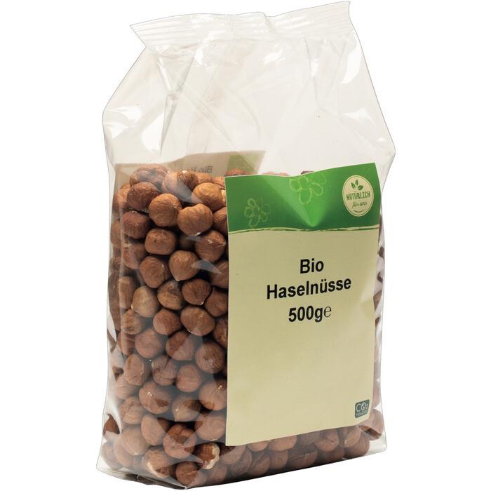 Grospackung natürlich für uns Bio Haselnüsse 10 x 500 g = 5 kg