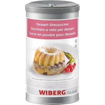 Grosspackung Wiberg Dessert Streuzucker 6 x 1200ml