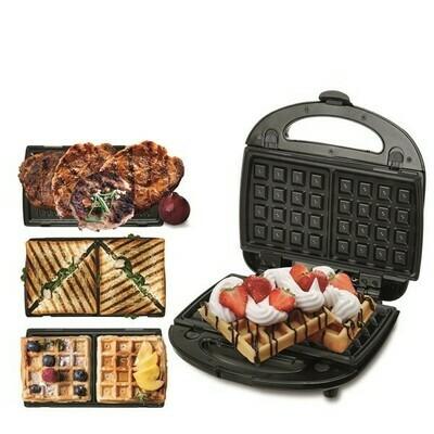 Camry CR3024 - Grill, Sandwich & Waffelmaker - 3in1
