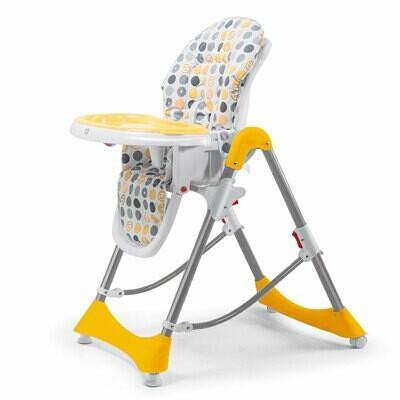 Baby Vivo Design Kinderhochstuhl aus Kunststoff - Tippy in Orange