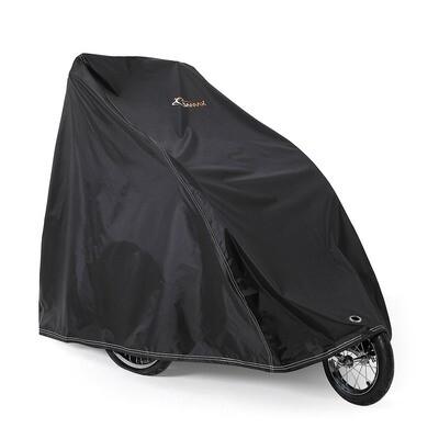 SAMAX Abdeckung für Velo-Anhänger / Fahrradanhänger - Schwarz