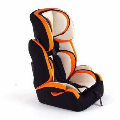 Baby Vivo Kindersitz / Autositz TOM von 9-36 kg für Gruppe 1+2+3 in Orange/Creme