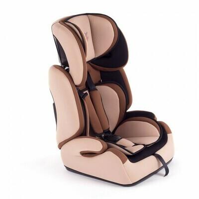 Baby Vivo Kindersitz / Autositz TOM von 9-36 kg für Gruppe 1+2+3 in Braun/Beige
