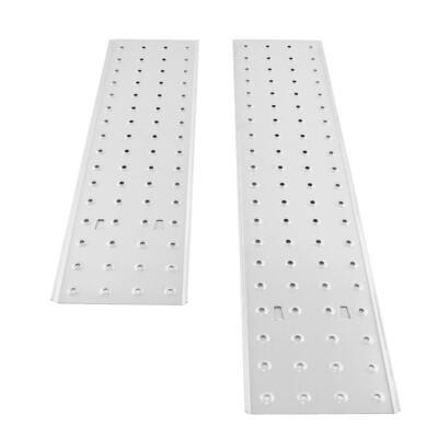 MAXCRAFT Gerüstplatten Set zum Auflegen für 4x5 Sprossen Multifunktionsleiter / Mehrzweckleiter