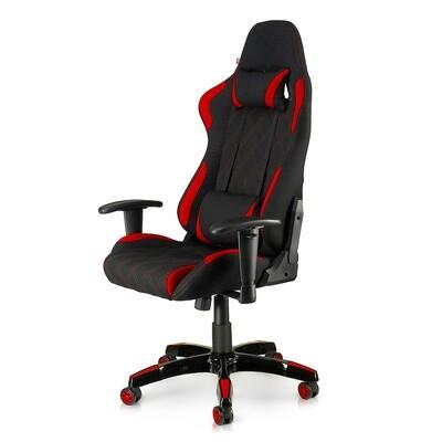 MY SIT Racing Chair Bürostuhl mit Stoff-Bezug - Red Racer
