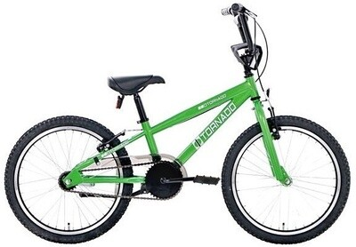 Bike Fun BMX Cross Tornado 20 Zoll Junior Rücktrittbremse grün