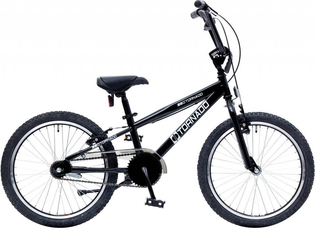 Bike Fun BMX Cross Tornado 20 Zoll Junior Rücktrittbremse schwarz