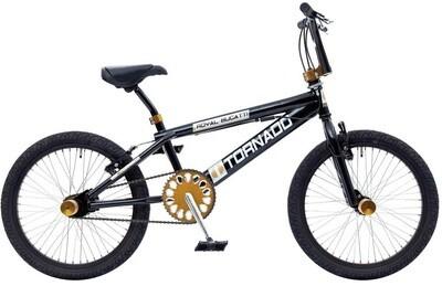 BMX Bike Fun Tornado 20 Zoll Unisex Felgenbremse Schwarz