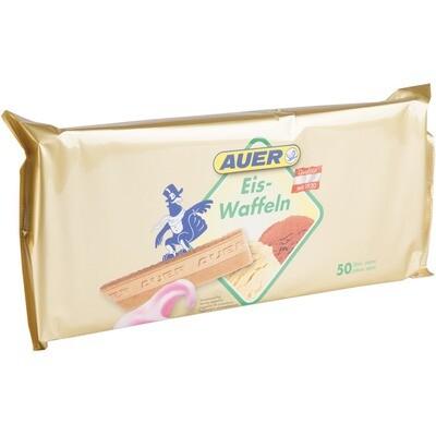 Grosspackung Auer Eiswaffel Lose 16 x 50 Stk.(275g) = 4,4 kg