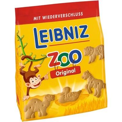 Grosspackung Bahlsen Leibniz Zoo Butterkekse 12 x 125 g = 1,5 kg