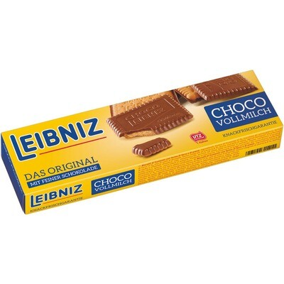 Grosspackung Bahlsen Leibniz Kekse Choco Vollmilch 4 x 125 g = 0,5 kg